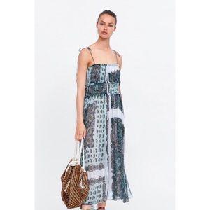 NWT Zara Printed Dress